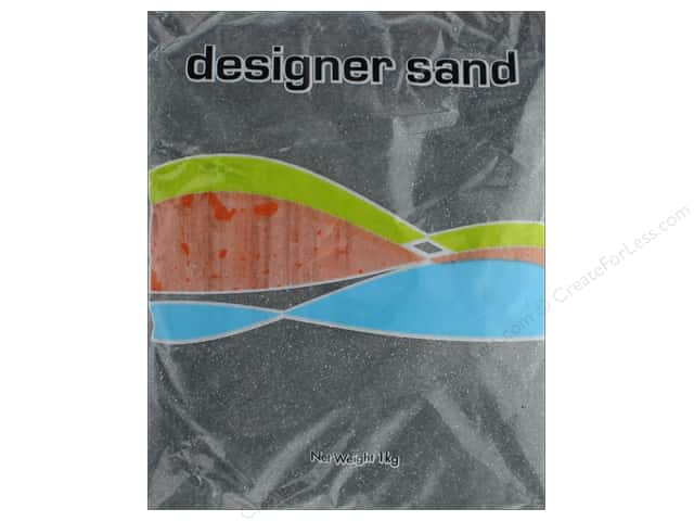 Sierra Pacific Crafts Decor Sand 1 kg Black