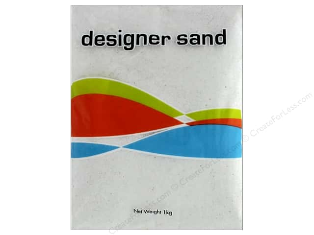 Sierra Pacific Crafts Decor Sand 1 kg White