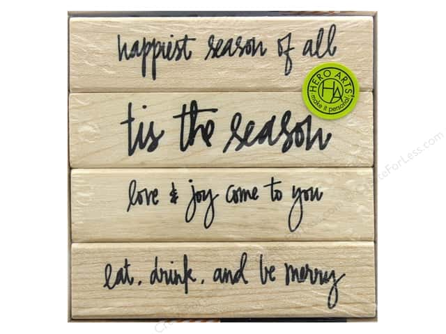 Hero Arts Rubber Stamp Set Kelly's Happiest Season