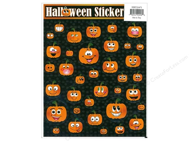 Heartnotes Sticker Halloween Assorted