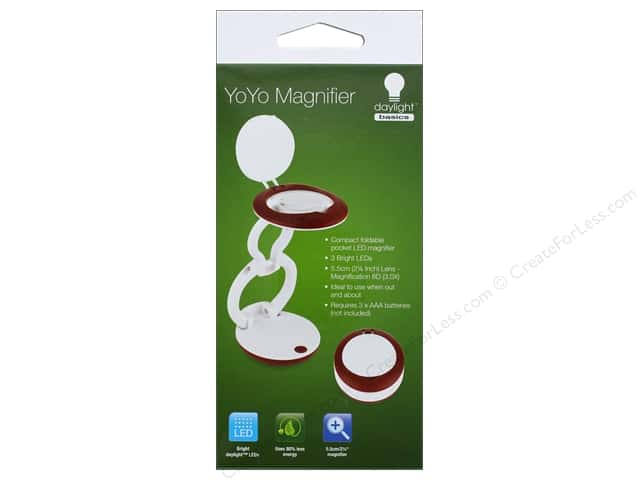 Daylight Magnifer Yoyo Pocket LED