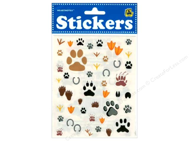 Heartnotes Sticker Animal Footprints