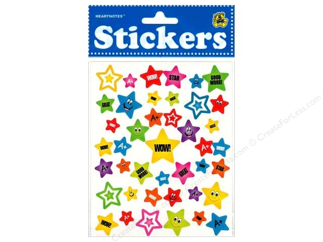 Heartnotes Sticker Star Wow Great