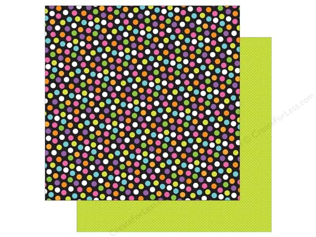 """Doodlebug Booville Paper 12""""x 12"""" Spooky Sprinkles (25 pieces)"""
