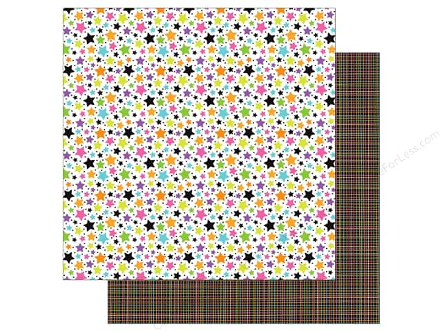 "Doodlebug Booville Paper 12""x 12"" Starbright (25 pieces)"