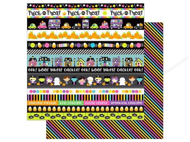 "Doodlebug Booville Paper 12""x 12"" Spellbound (25 pieces)"