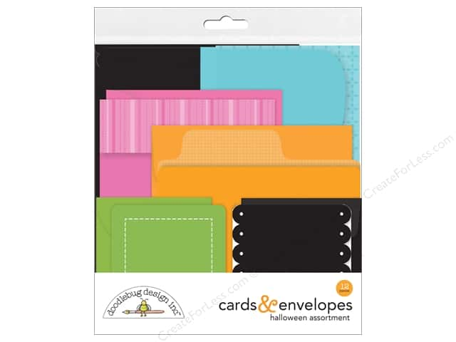 Doodlebug Booville Create-A-Card Assortment 6pc (6 sets)