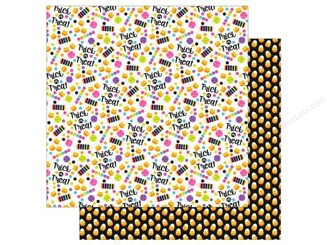 "Doodlebug Booville Paper 12""x 12"" Dandy Candy (25 pieces)"