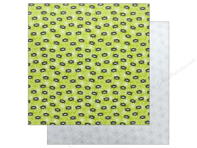 "Doodlebug Booville Paper 12""x 12"" Spunky Spiders (25 pieces)"