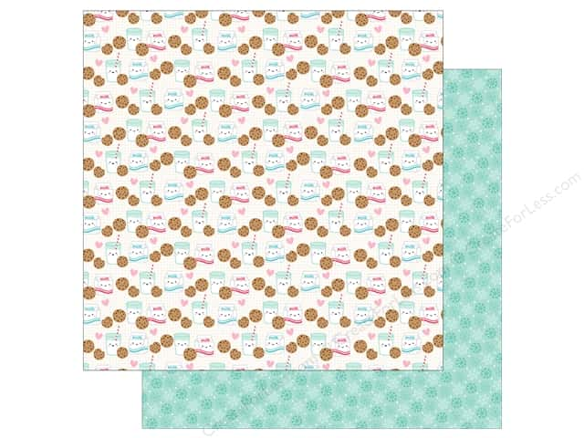 Doodlebug Collection Milk & Cookies Paper 12 in. x 12 in. (25 pieces)