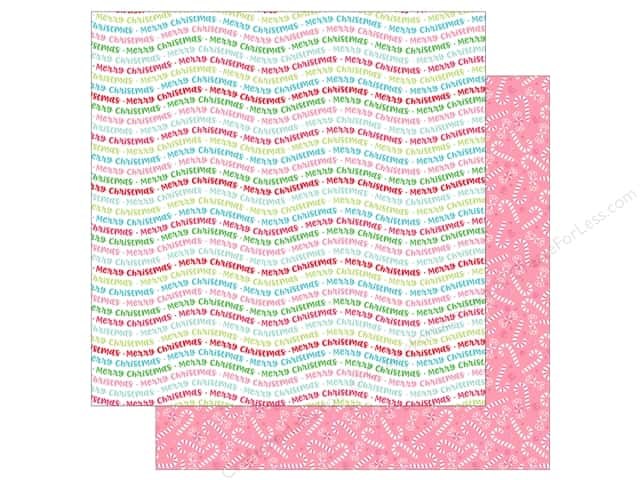 Doodlebug Collection Milk & Cookies Paper 12 in. x 12 in. Holiday Cheer (25 pieces)