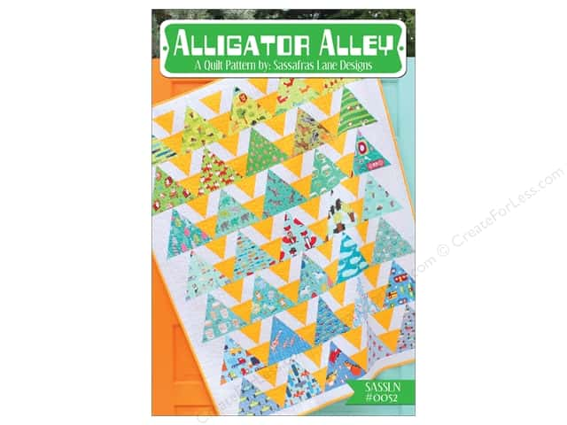Sassafras Lane Designs Alligator Alley Pattern