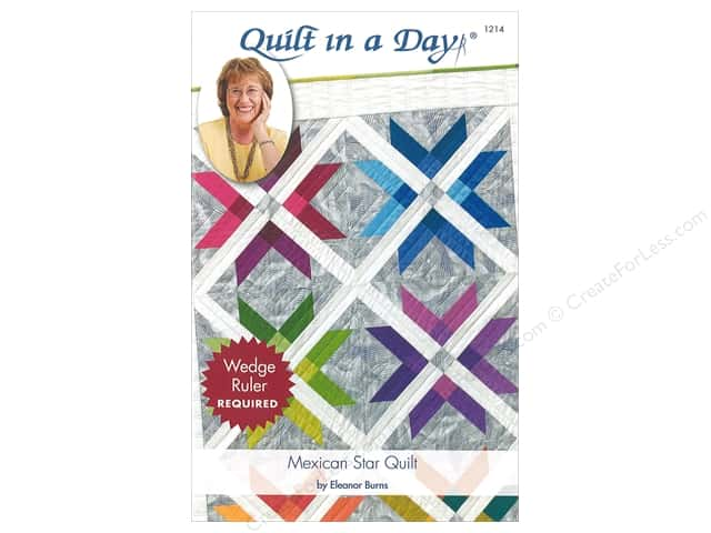 Quilt In A Day Mexican Star Quilt Pattern