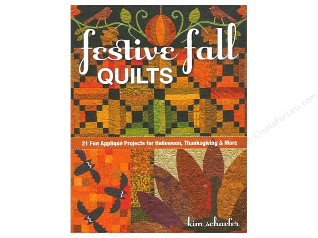 C&T Publishing Festive Fall Quilts Book