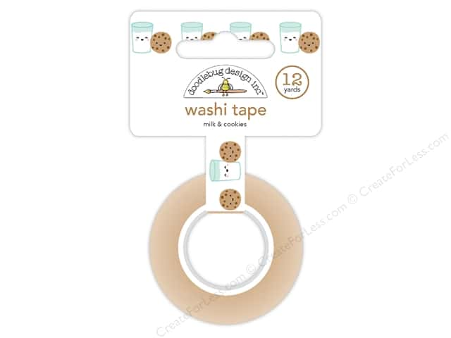 Doodlebug Collection Milk & Cookies Washi Tape (6 yards)