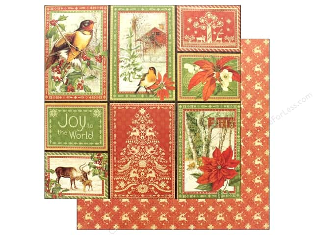 Graphic 45 Winter Wonderland Paper 12 in. x 12 in. Holiday (25 pieces)