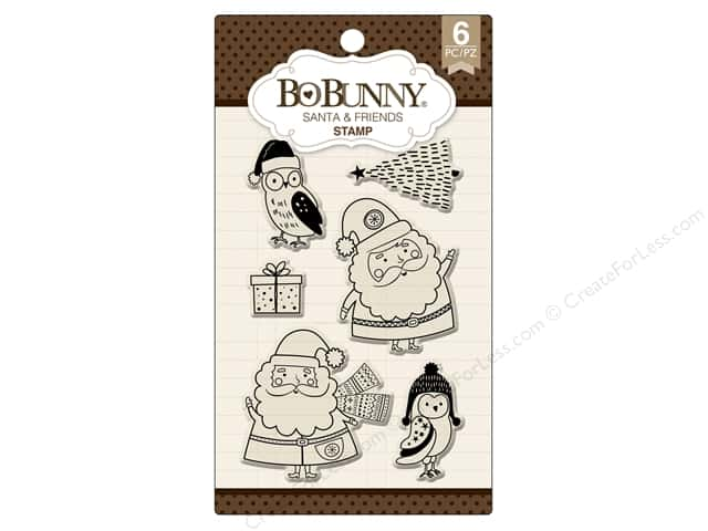 Bo Bunny Stamp Essentials Santa & Friends