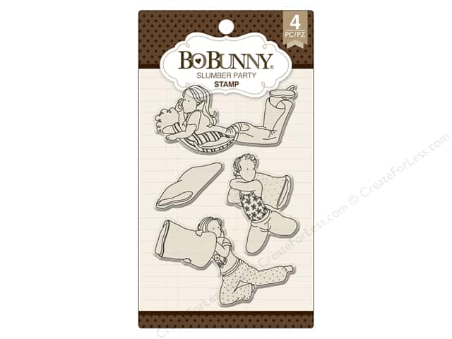 Bo Bunny Stamp Essentials Slumber Party