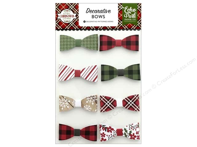 Echo Park Collection A Perfect Christmas Deco Bows