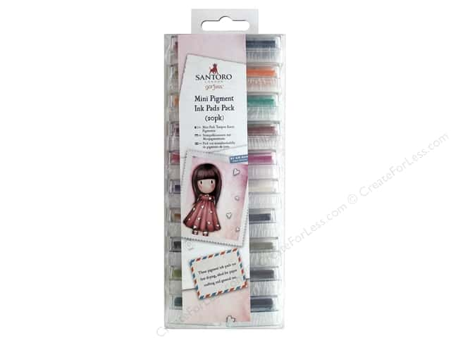 Docrafts Santoro Gorjuss Mini Ink Pads Pack
