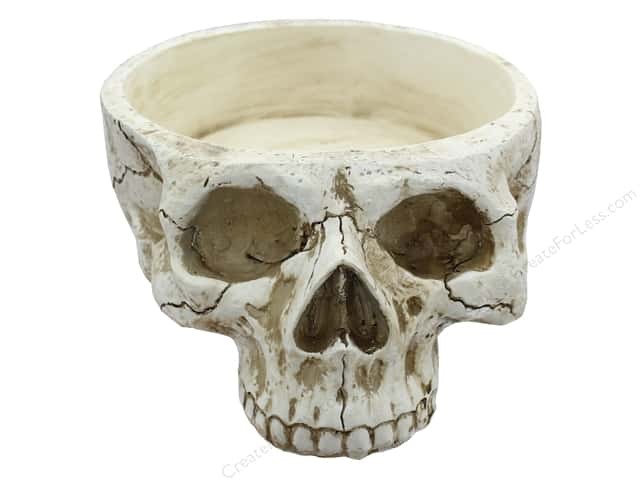 Midwest Design Skull Container 11 in.