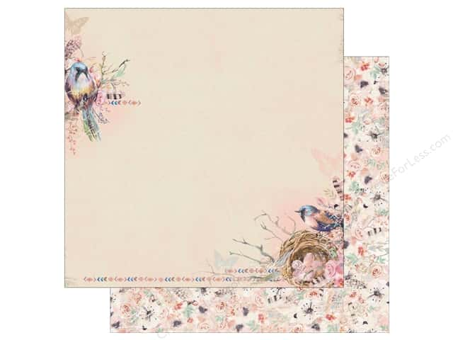 Bo Bunny Collection Serendipity Paper 12 in. x 12 in. (25 pieces)