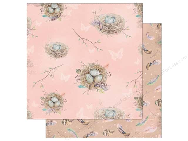 Bo Bunny Collection Serendipity Paper 12 in. x 12 in.  Branches (25 pieces)