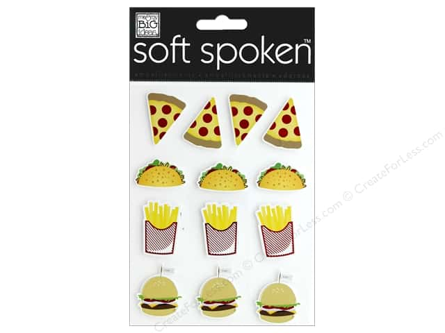 Me&My Big Ideas Sticker Soft Spoken Fast Food