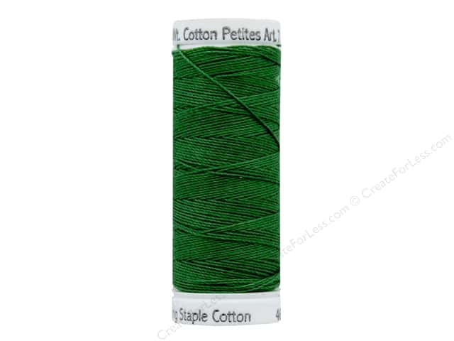 Sulky Cotton Thread Petites 12 wt 50 yd Green