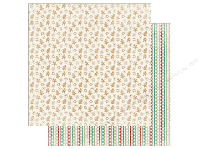 "Authentique Collection Colorful Christmas Paper 12""x 12"" Four (25 pieces)"