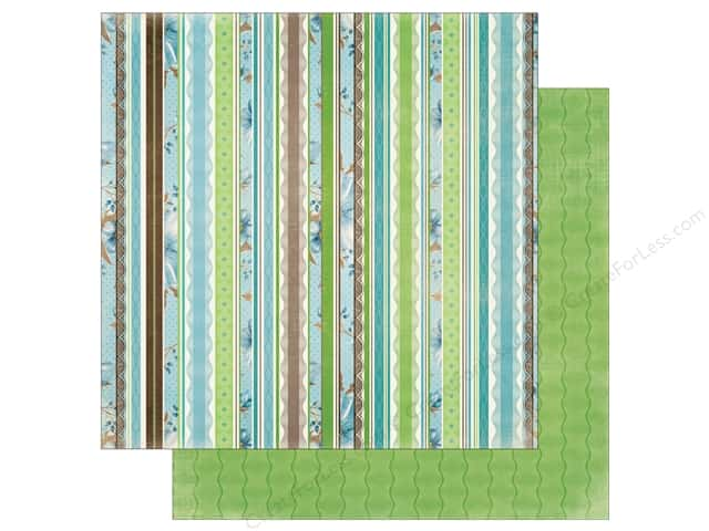 Bo Bunny Penelope Paper 12 in. x 12 in.  Beauty (25 pieces)