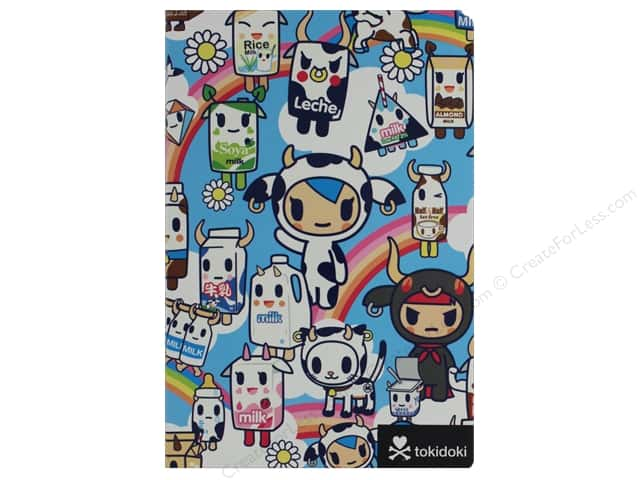 Sterling Tokidoki Cows Flexi Journal Book