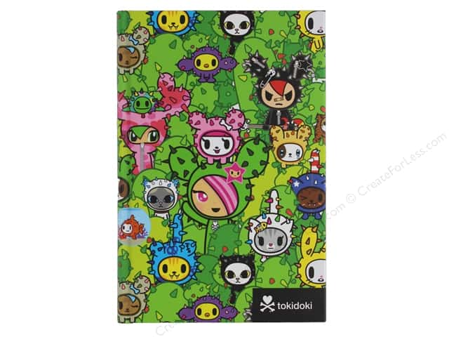 Sterling Tokidoki Cactus Critters Journal Book