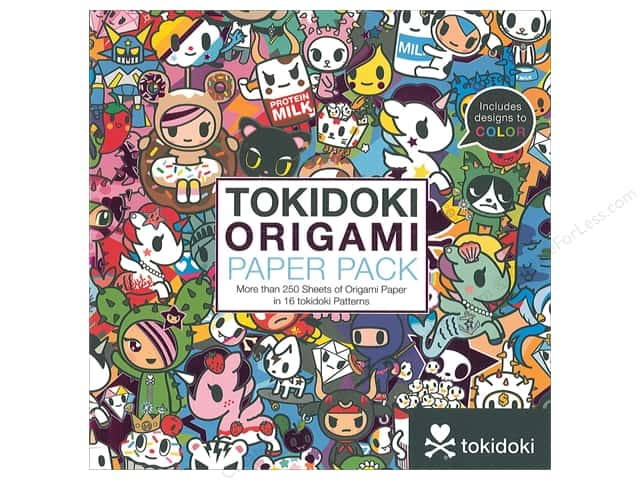 Sterling Origami Paper Pack 6 in. x 6 in. Tokidoki