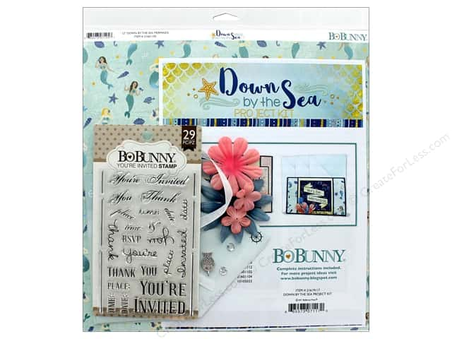 Bo Bunny Down By The Sea Project Kit