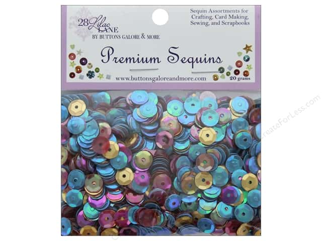 Buttons Galore 28 Lilac Lane Premium Sequins Party On