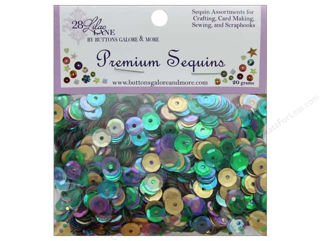 Buttons Galore 28 Lilac Lane Premium Sequins French Quarter