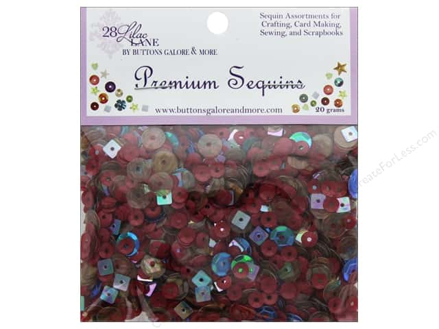 Buttons Galore 28 Lilac Lane Premium Sequins Farmhouse