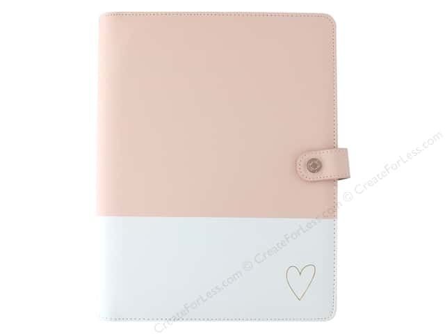 Webster's Pages Color Crush Planner Composition Heart Blush & Gold Book Wrap