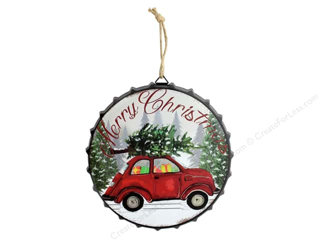 Darice Wall Plaque Car With Tree
