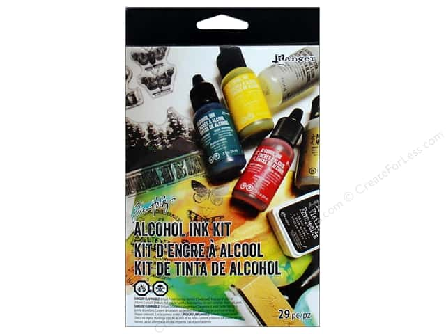 Ranger Tim Holtz Alcohol Ink Kit 29 pc
