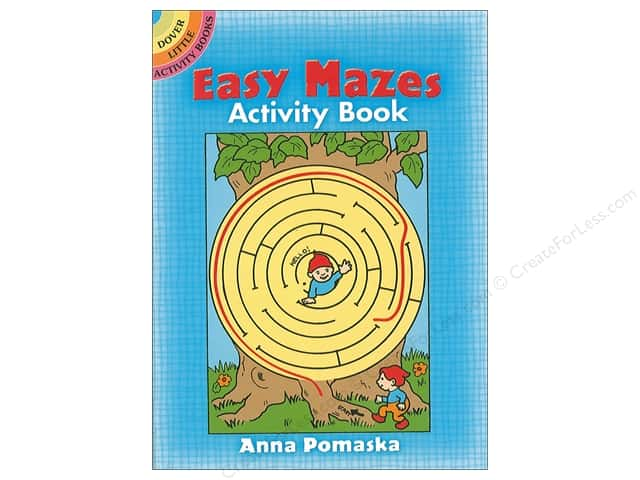 Dover Publications Little Easy Mazes Activity Book