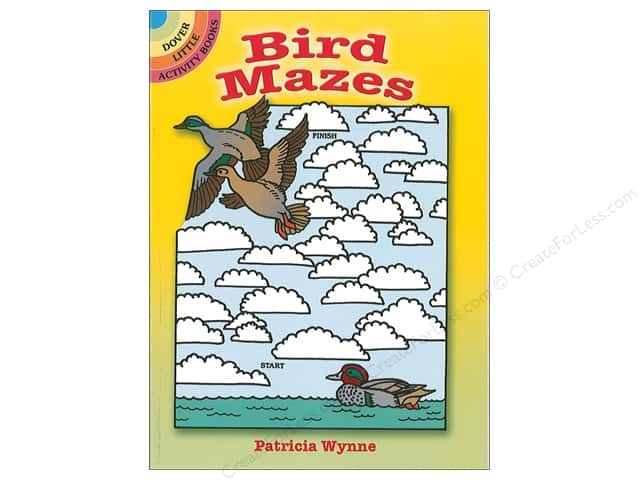 Dover Publications Little Bird Mazes Book