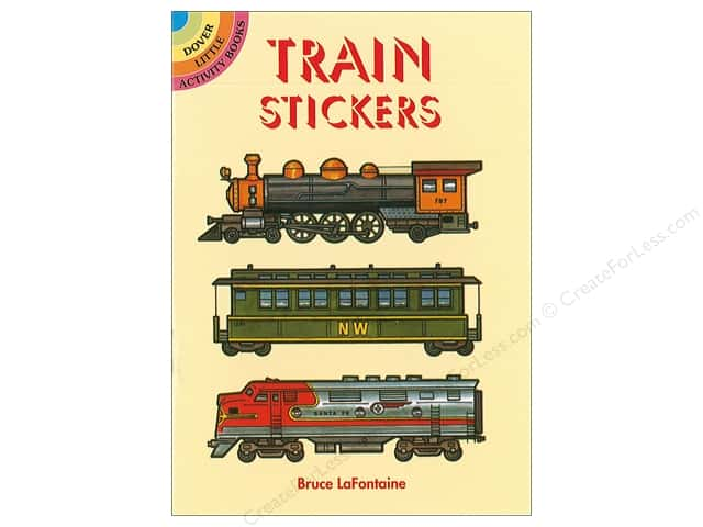 Dover Publications Little Train Stickers Book