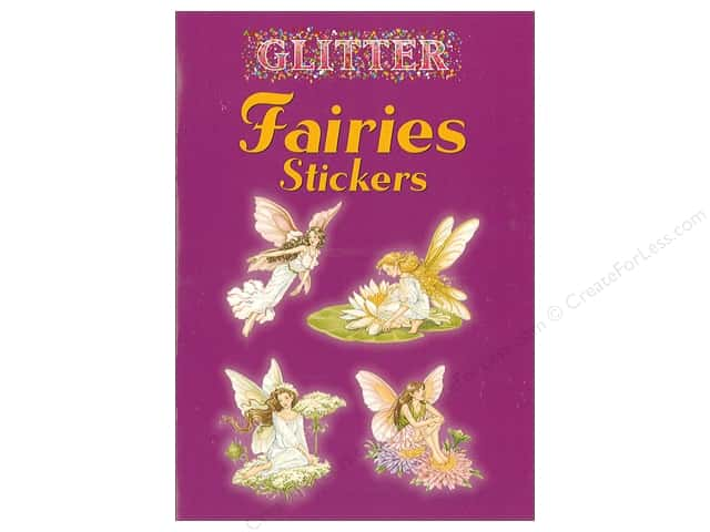 Dover Publications Little Glitter Fairies Stickers Book