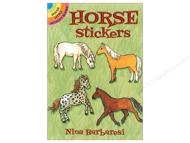 Dover Publications Little Horse Stickers Book