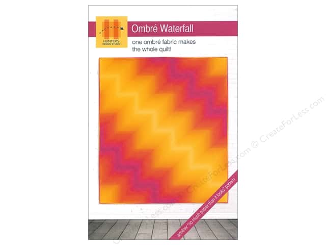 Hunter's Design Studio Ombre Waterfall Pattern