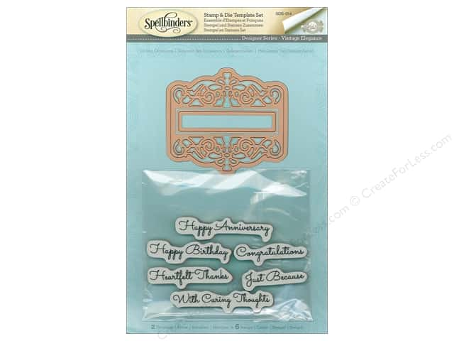 Spellbinders Stamp & Die Giving Occasions