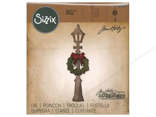 Sizzix Dies Tim Holtz Bigz Lamp Post