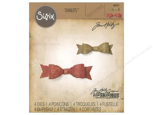 Sizzix Dies Tim Holtz Thinlits Fold-Up Bows